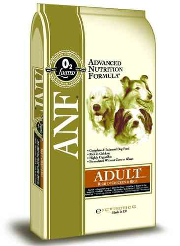 ANF Chicken & Rice Adult dog food