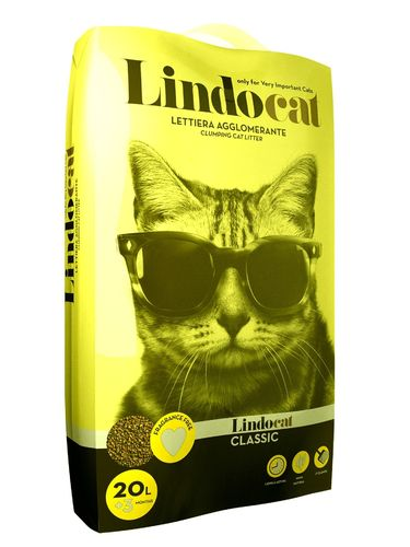 Lindo Cat Classic coarse clumping cat litter