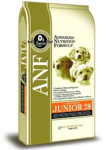 ANF Junior 28 Large Breed puppy food