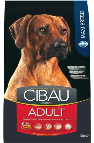 Cibau Adult Maxi Breed dog food for large breeds 12 kg.