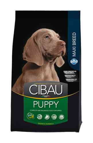 Cibau Puppy Maxi Breed puppy food