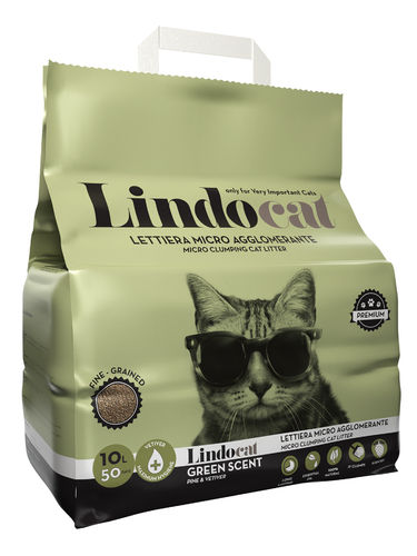 Lindo Cat Green Scent cat micro litter
