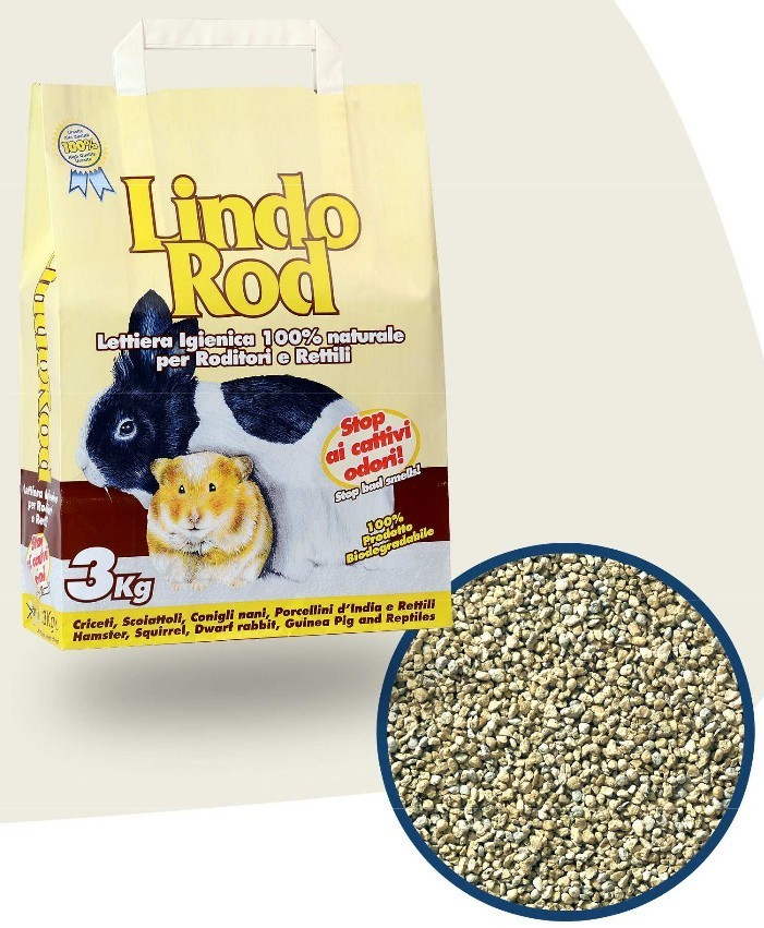 Lindo Rod litter for rodents (non-clumping)