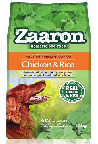 Zaaron Holistic ALS Chicken & Rice dog food