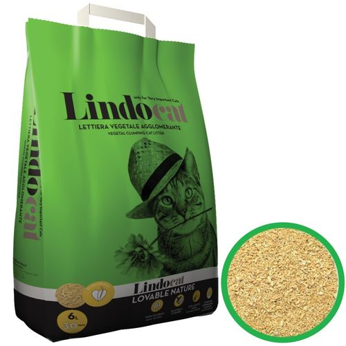 Lindo Cat Lovable Nature clumping biodegradable corn cob sand