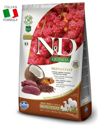 N&D Venison-Quinoa adult dog food