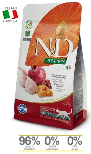 N&D Cat Adult Quail-Pumpkin cat food