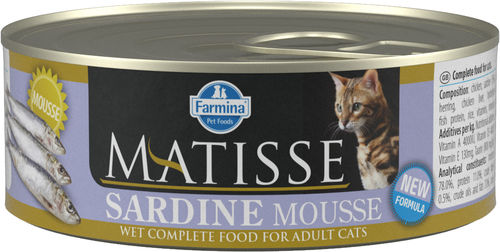 Matisse Sardine Mousse cat food (can)