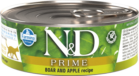 N&D Cat Boar with Pumpkin cat food (can)