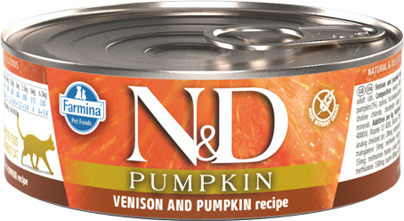 N&D Cat Venison with Pumpkin cat food (can)