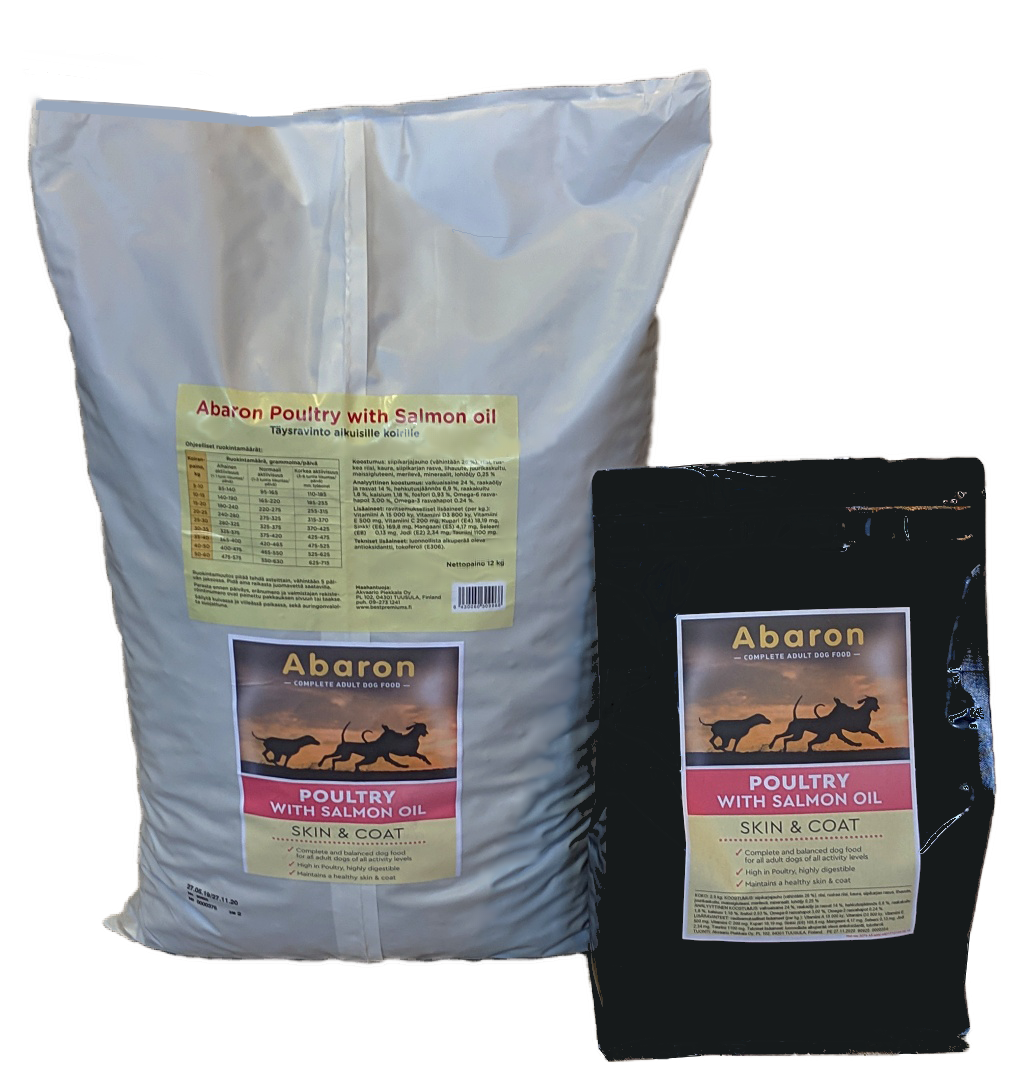 Abaron Poultry with Salmon Oil - Skin & Coat